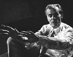 Aldous Huxley. Writer and Alexander Technique student
