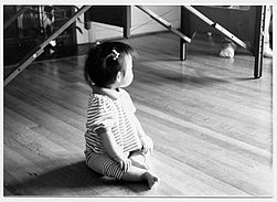 baby with good natural posture at the Alexander Technique Center